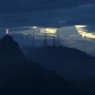 Christ got illuminated ;)