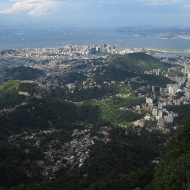 View over Rio from Corcovado
