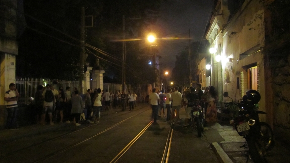 My last night in Santa Teresa. All this street-hang, gonna miss!