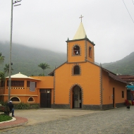 One of the many churches on the island!
