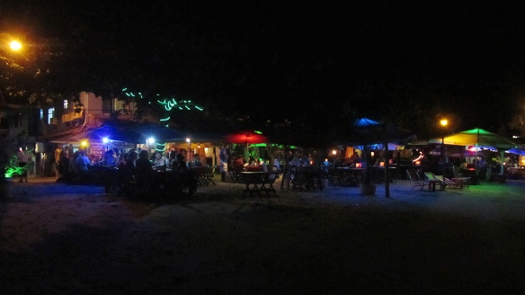 Ilha grande at night