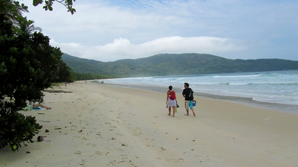 The famous lopes mendes beach
