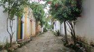 An alley in the historical center