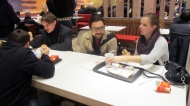 Typical swedish: having mc donalds after a night out!