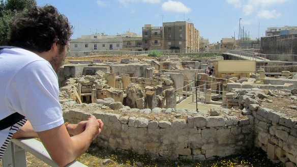 The Tarxien temples, a UNESCO world heritage site, dated to approx 3150 BC.