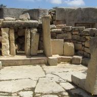 Entrances, tarxien temples