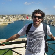 Duilio with a view over the south harbour :)