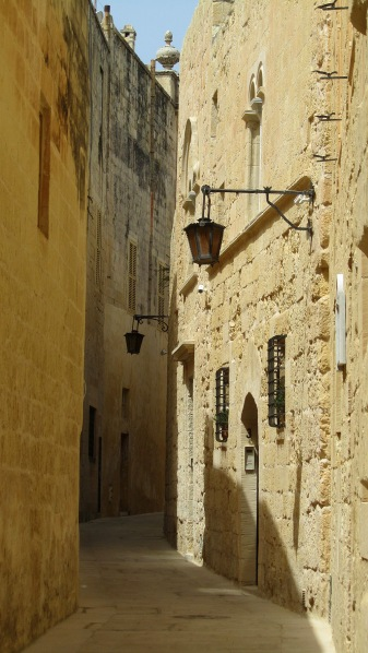 The streets of Mdina