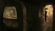 Main complex in St Pauls Catacombs