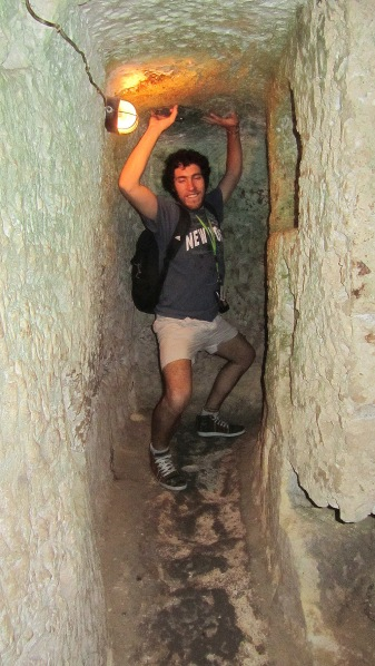 This is Duilio, in St Pauls Catacombs
