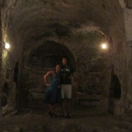 In the main complex of St Pauls catacombs