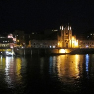 St Julians at night