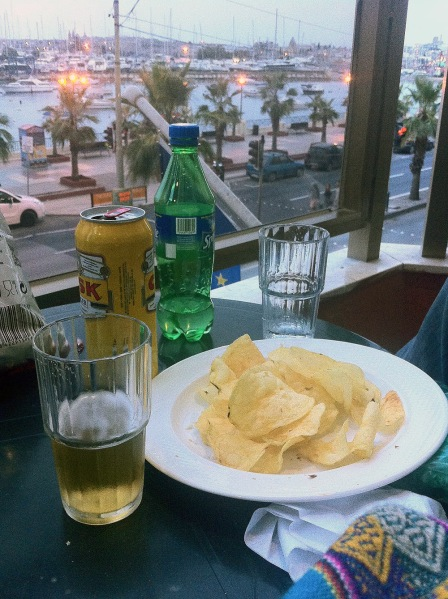 Perfect evening at the balcony in Sliema!