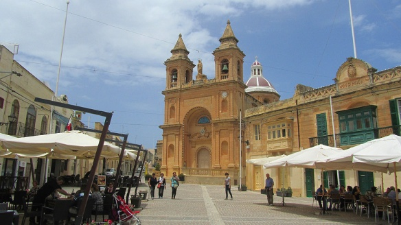 Nice restaurants and cafés at Marsaxlokk