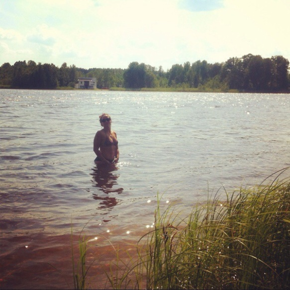 First swim in sweden for years!!!