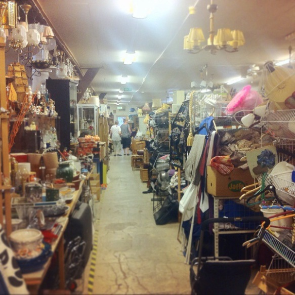 And the other room in the antique shop, you could get lost there!