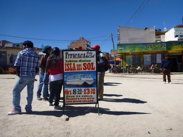 Easy to get boat tickets over to Isla del Sol