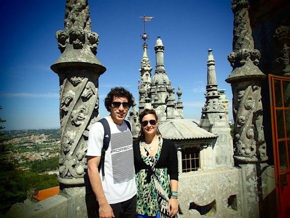 In the highest balcony in Quinta De Regaleria