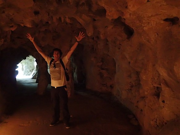 Discovering the caves in Quinta de Regaleira