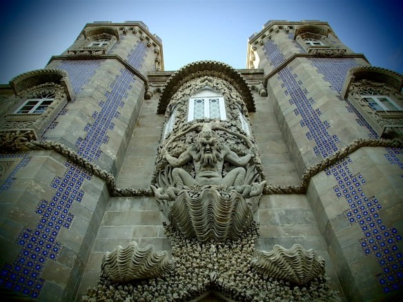 The entrance in Castelo de Pena