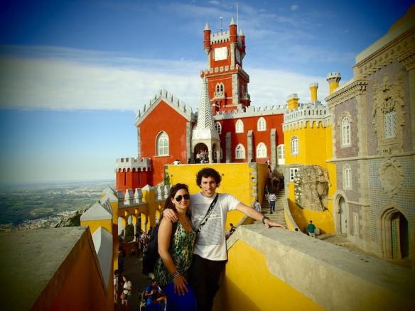 In Castelo Da Pena!