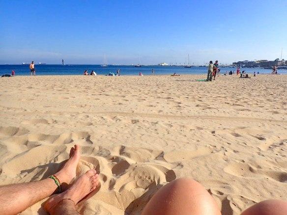 Enjoying some beach in Cascais :)