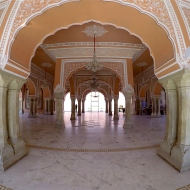 Nice hall in the palace