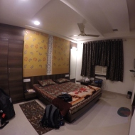 my room in jaipur. I didn't get any sheets...