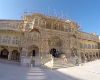 One of the entrances in Amber palace