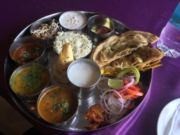 Rajasthan thali!