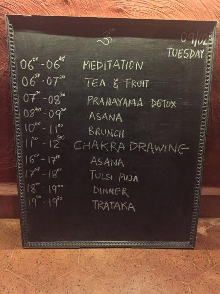 tuesdays schedule