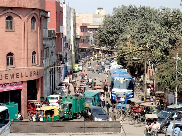 Street of Old Delhi