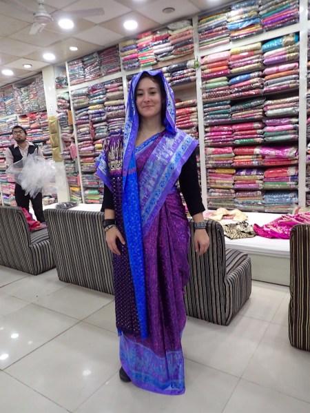 Me in my sari