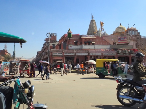 In the center of Jaipur