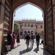 around the palace