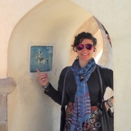 Me in front of my astrological monument - the Sagittarius :)