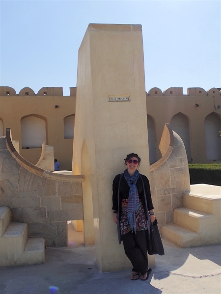 Me in front of my zodiac monument - the Sagittarius :)