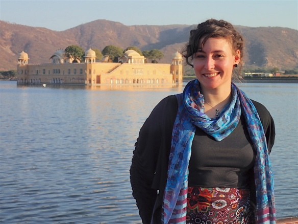 Me in front of the Water Palace