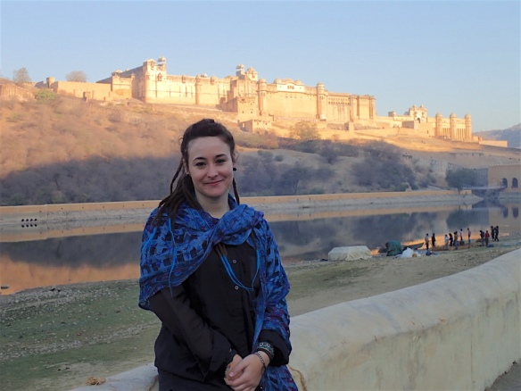 My below Amber Fort and Palace