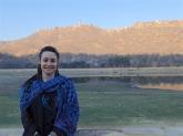 Agra Fort behind me