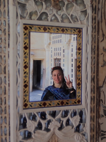 Hello form one of the mirrors in the mirror palace :)
