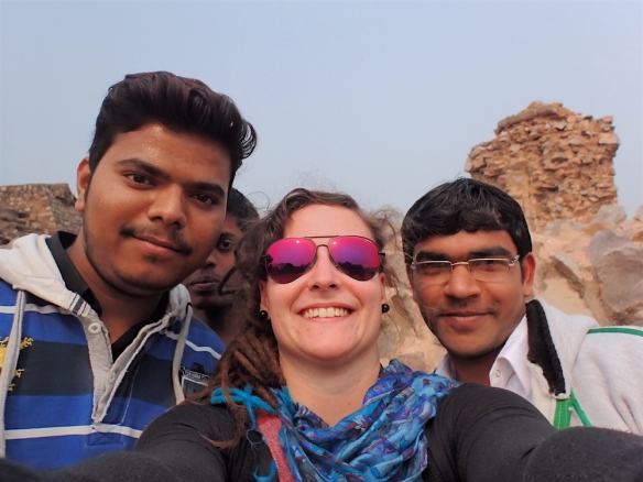 One of the selfies with some indian kids :)