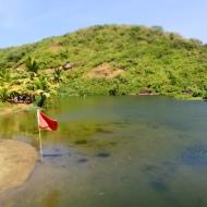 The sweet water lake in Arambol