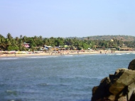 Beach of arambol