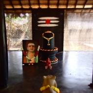 the Guru in the temple