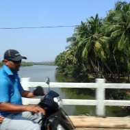 On the way to Agonda