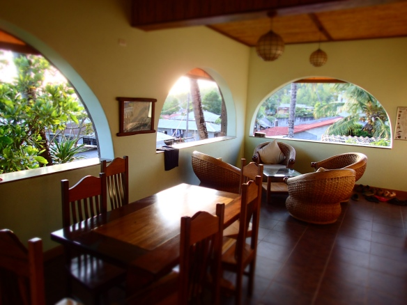 Our common area at Corto Divers, so nice!