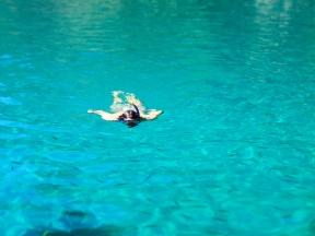 Duilio snorkeling
