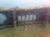 """The deck of """"Olympia Maru"""""""