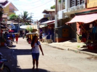 One of the streets in Coron